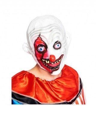 Máscara Payaso Loco Grin Goma
