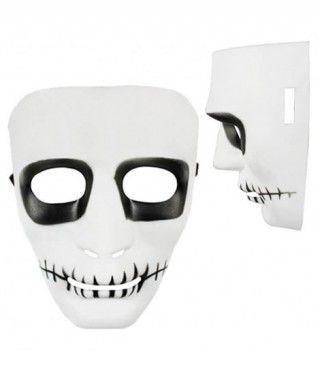 Máscara Boca Cosida B&W PVC
