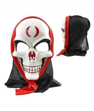 Máscara Muerte Skull Capucha PVC
