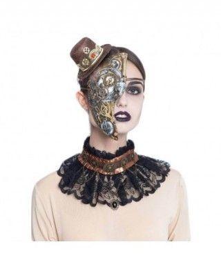 Máscara Robótica Steampunk Half Face