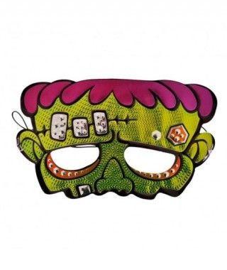 Antifaz Monstruo Frankenstein Print Metalizado