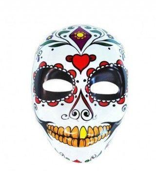 Máscara Catrín Dientes Oro PVC