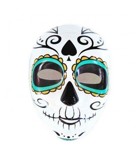 Máscara Catrín Ojo Azules PVC