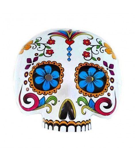Careta Día de los Muertos Ojos Azules...