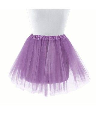 Tutú infantil lila bailarina 30 cm