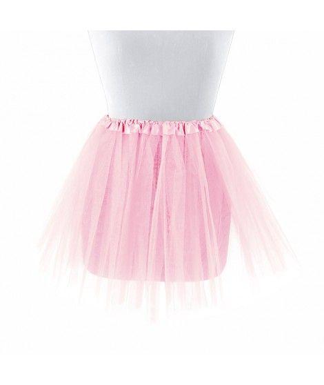 Tutú infantil rosa bailarina 30 cm