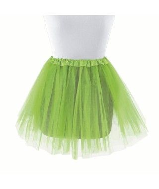 Tutú infantil verde claro bailarina 30 cm