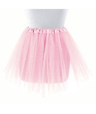 Tutú adulto rosa bailarina 40 cm