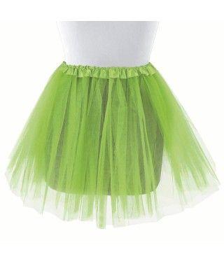 Tutú adulto verde claro bailarina 40 cm