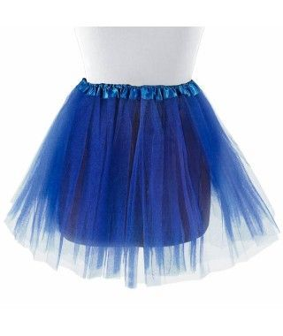 Tutú adulto azul oscuro bailarina 40 cm