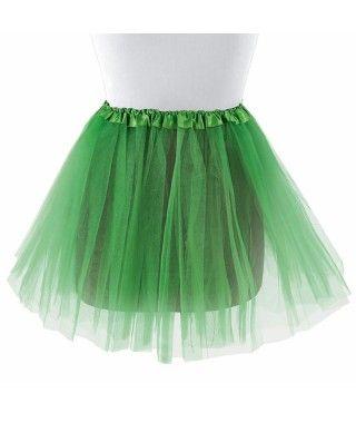 Tutú adulto verde oscuro bailarina 40 cm