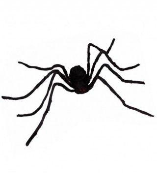 Araña Negra Patas Finas 124 cm