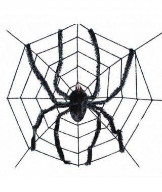 Telaraña con araña 240 cm