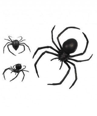 Araña Negra Plástico