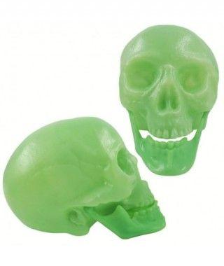 Cráneo Decorativo Flúor (+ tamaños)