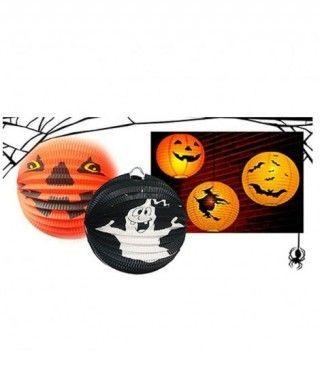 Farolillo de Halloween Esférico Surtido (1 ud)