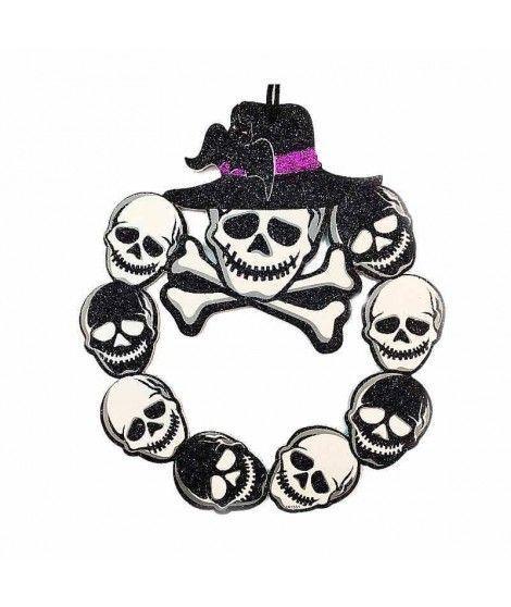 Colgante Puerta Halloween KT Esqueleto 25 cm