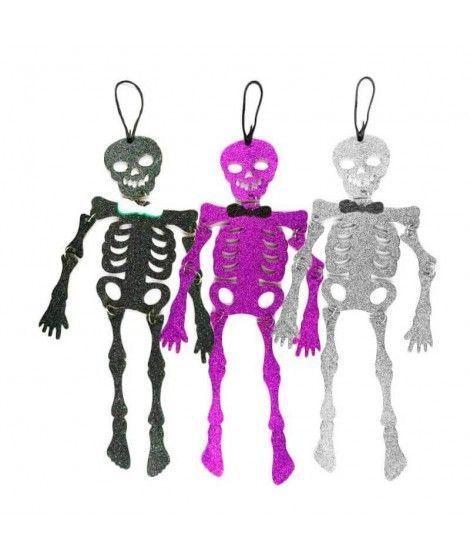 Colgante Puerta Halloween KT Esqueleto 42 cm