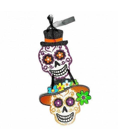 Cartel Halloween Día Muertos KT