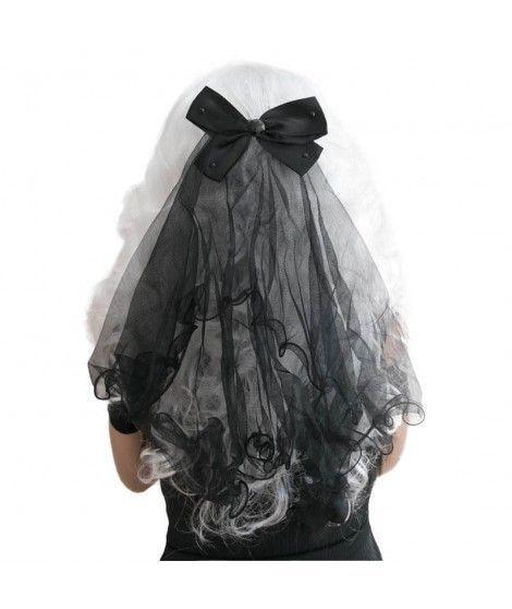 Velo Negro de Disfraz Halloween