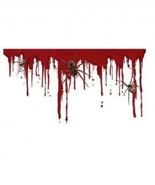 Pegatina Sangre y Arañas