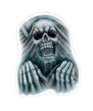 Pegatina Esqueleto B&W