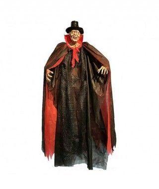 Colgante Vampiro Chistera Con Luz 190 cm