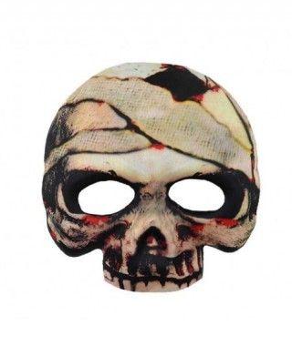 Máscara Esqueleto Momia Tela
