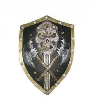 Escudo Medieval Skull Goma