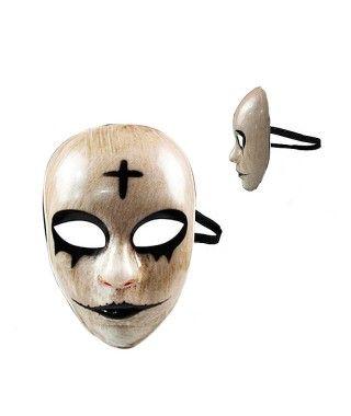 Máscara Muñeco Muerto PVC