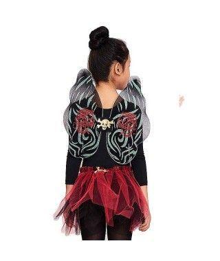 Conjunto de disfraz Calaveras con tutú Infantil