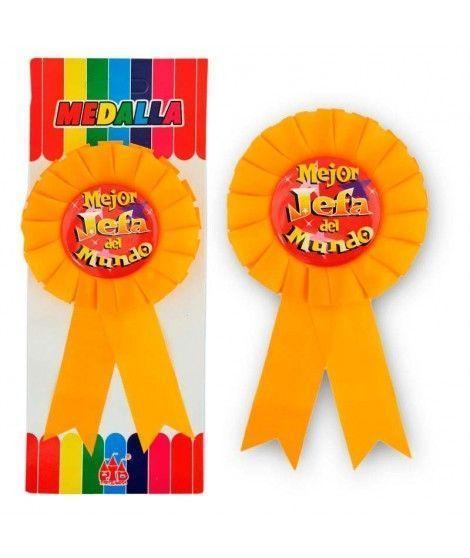 """Medalla Broche """"Mejor Jefa del Mundo"""" Regalo"""