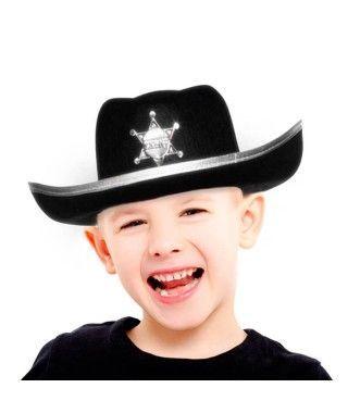 Sombrero Sheriff Oeste Infantil Fieltro