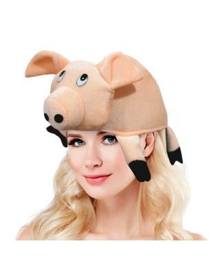 Gorro Animal Cerdo Foam