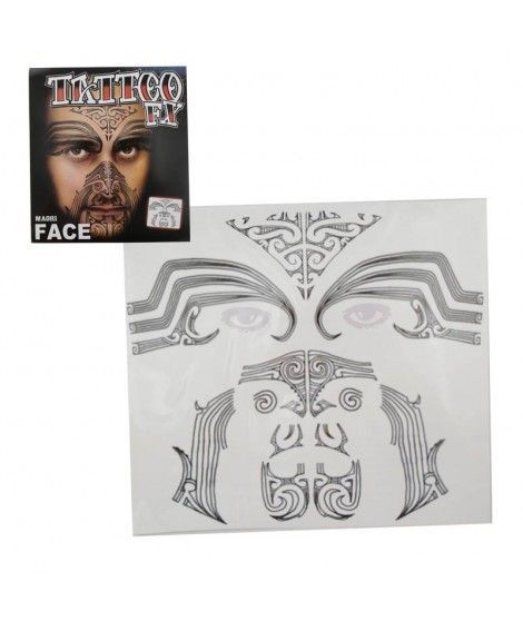 Tatuaje Facial Moai