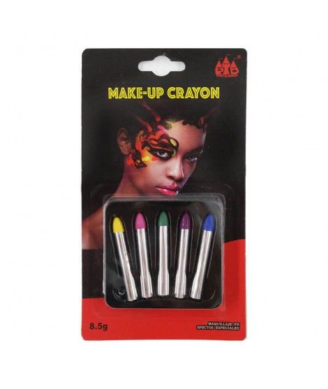 Pack 5 Ceras Maquillaje Fantasia