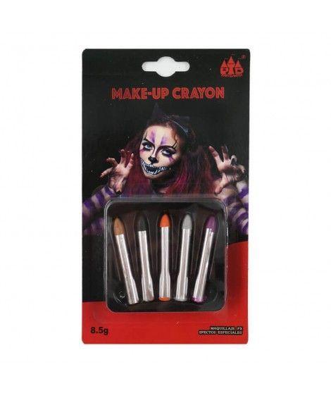 Pack 5 Ceras Maquillaje Halloween