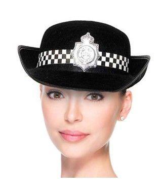 Sombrero Policía Inglés Fieltro
