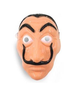 Careta de Dalí Plástico- Accesorio Disfraz