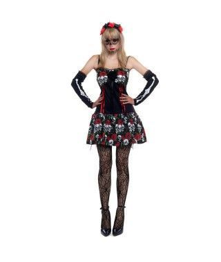 Disfraz Señorita Esqueleto...