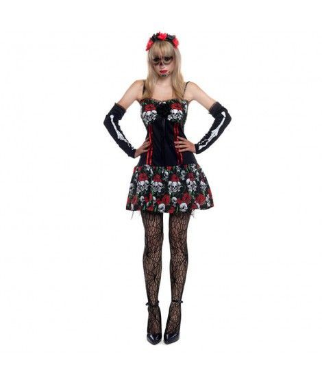 Disfraz Señorita Esqueleto Catrina...