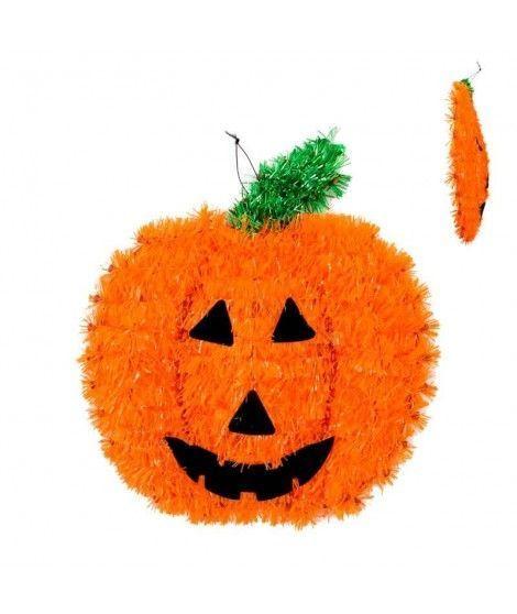 Colgante Calabaza de Espumillón Decoración Halloween