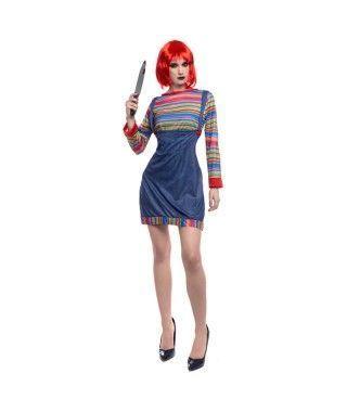 Disfraz Muñeca Asesina para mujer
