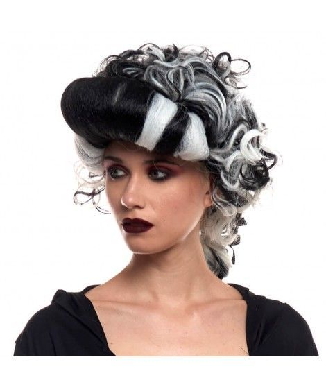 Peluca Vampiresa Victoriana Accesorio Halloween