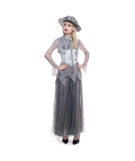 Disfraz Fantasma Victoriana mujer adulto para Halloween