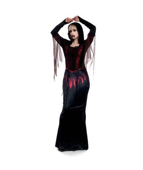 Disfraz Vampiresa de Fuego Mujer Adulto Halloween