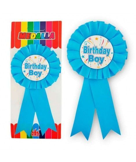 "Medalla Broche ""Birthday Boy"" Regalo"