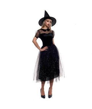 Disfraz Bruja Destellos para mujer