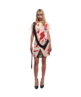 Disfraz Matazombis mujer adulto para Halloween