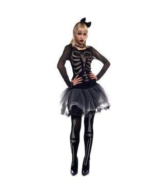 Disfraz Esqueletina para mujer